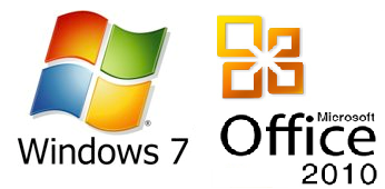 Microsoft Windows Vista and Office logos